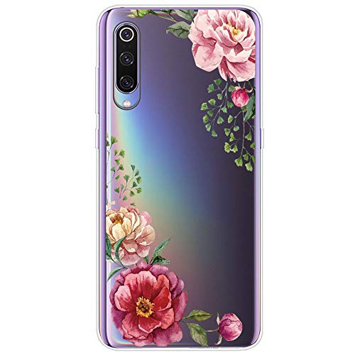 Case Compatible With Xiaomi Mi 9 /xiaomi Mi 9 Se, Protective Phone Case Silicone Waterproof Crystal Soft Tpu Cover Back Thin Flexible Shockproof Case For Xiaomi (5, Xiaomi Mi 9)