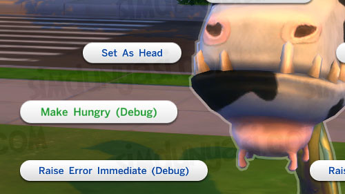 sims 4 debug cheat 2020