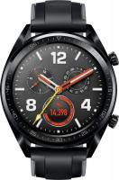 Huawei Watch GT Sport Black with Silicone Strap Black (55023255/55023259)