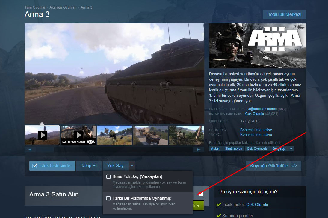 Steam New Feature