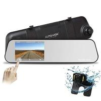 Rearview mirror dashcam with rearview camera
